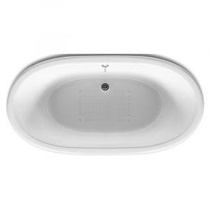 Ванна Newcast 170x85, сіра