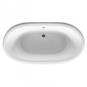 Ванна Newcast 170x85, чорна