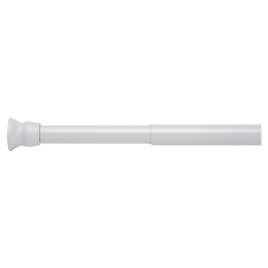 Карниз для шторок 110-185, білий