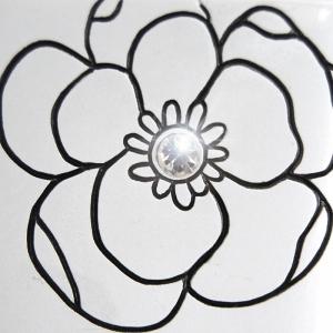 Відро косметичний Diamond 8,5 л біле