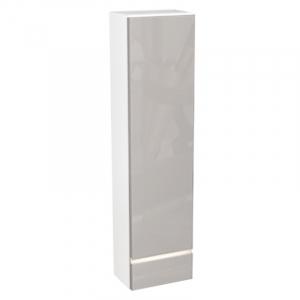 Шкафчик Domino, левый, белый/капучино