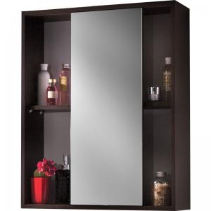 Шкафчик зеркальный Lotos E65 венге