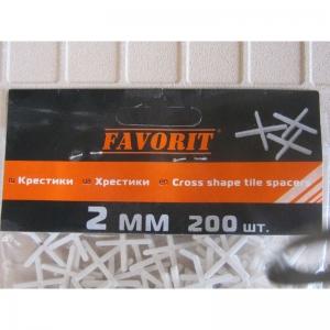 Хрестики для кахлю, 2 мм (200 шт)