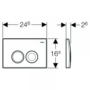 Кнопка Delta 21