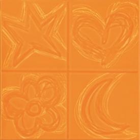 Декор Agatha Quatro Relive Naranja