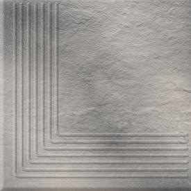 Клинкер Solar Gray Steptread Corner Structura