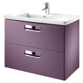 Тумба Gap и раковина, фиолетовая