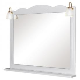 Зеркало Classic 100, белое