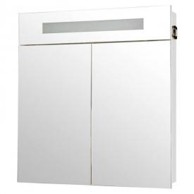 Шкафчик зеркальный Ника 75, белый