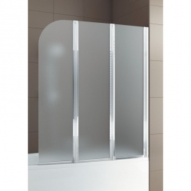 Шторка на ванну Modern 3, права, хром