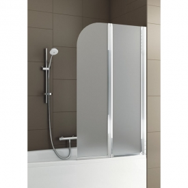Шторка на ванну Modern 2, права, хром