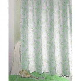 Шторка для ванної Mariposa зелена