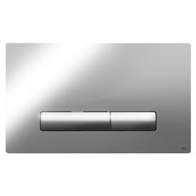 Кнопка Glam Olipure, глянцевый хром