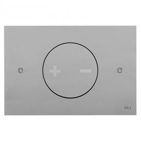 Кнопка INO-X 02, матовый хром