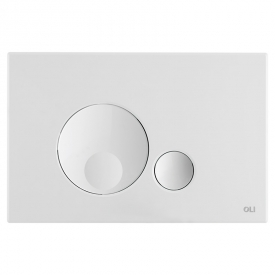 Кнопка Globe 3/6 біла