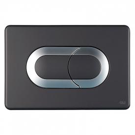 Кнопка Salina Soft-touch, черная