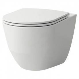 Чаша унітаза Pro A Rimless Comfort з сидінням Slim