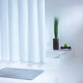 Шторка для ванної Uni біла