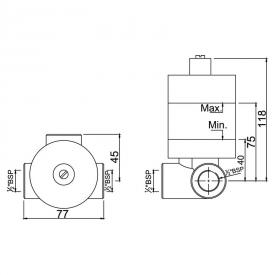 Вбудований механізм змішувача ALD-CHR-279