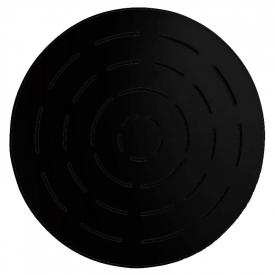 Верхній душ Maze круглий, чорний