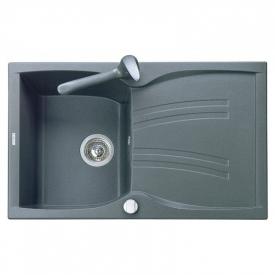 Кухонна мийка Medio 79 врізна, сіра