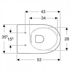Інсталяція Duofix 3-in-1 458.126.00.1 + чаша унітаза Selnova Rimfree 500.694.01.2