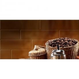 Декор Брик Кофе 1 глянцевый