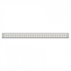 Душовою канал Доміно 60 з полірованої гратами