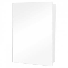 Шафка дзеркальна Квадро 60 біла