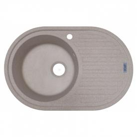 Кухонна мийка Albero 77 врізна, терра