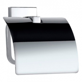 Тримач для паперу Kubix Prime з кришкою хром