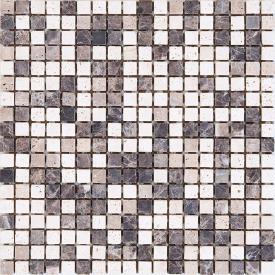 Мозаика K-MOS Travertino Mix Emperador