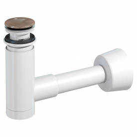 Сифон для раковини EasyClean бронза