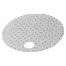 Килимок круглий Lense, прозорий