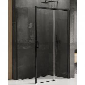 Душова штора Prime Black 100x80 R