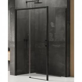 Душова штора Prime Black 120x90 L