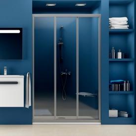 Душевая дверь ASDP 3-80 Transparent+сатиновый