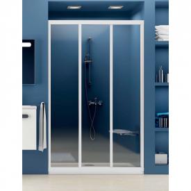 Душевая дверь ASDP 3-90 Transparent+белый