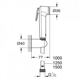 Душевой набор Tempesta-F Trigger Spray 30