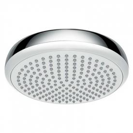 Верхний душ Crometta 160 белый/хром