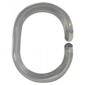Кольца для шторки 12 штук, прозрачные