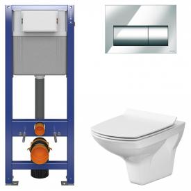 Інсталяційна система Aqua 22 c чашею унітаза Carina Clean On