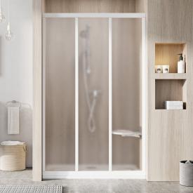 Душові двері ASDP 3-120 Grape+білий