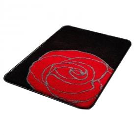 Коврик Rose, черно-красный