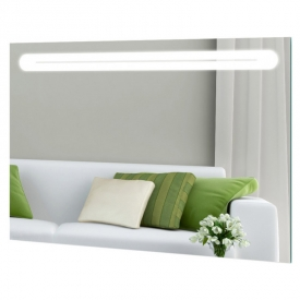 Зеркало Bari 800x700 LED с фацетной кромкой