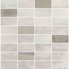 Декор Floorwood White-Beige Mix Mosaic