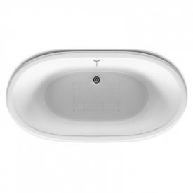 Ванна Newcast 170x85, черная