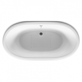 Ванна Newcast 170x85, бордо