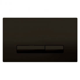 Кнопка Glam Olipure Soft-touch, черная