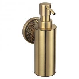 Дозатор Милано для жидкого мыла бронза